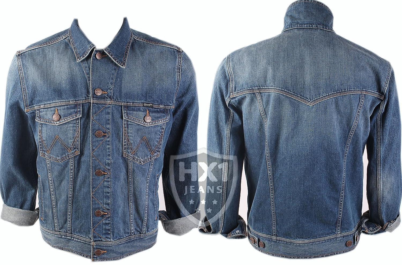 Mens Wrangler StoneWashed Denim Jacket Available in sizes L