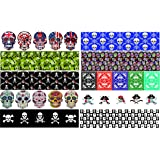 Guitar Pick Punch Refill Sheets - Skull Edition - Make Custom Rock and Roll Picks With Any Pick Punch - Set of 20