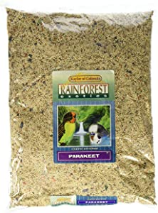 Kaylor of Colorado Rainforest Exotics Vitamin Enriched Parakeet Food, 4lb