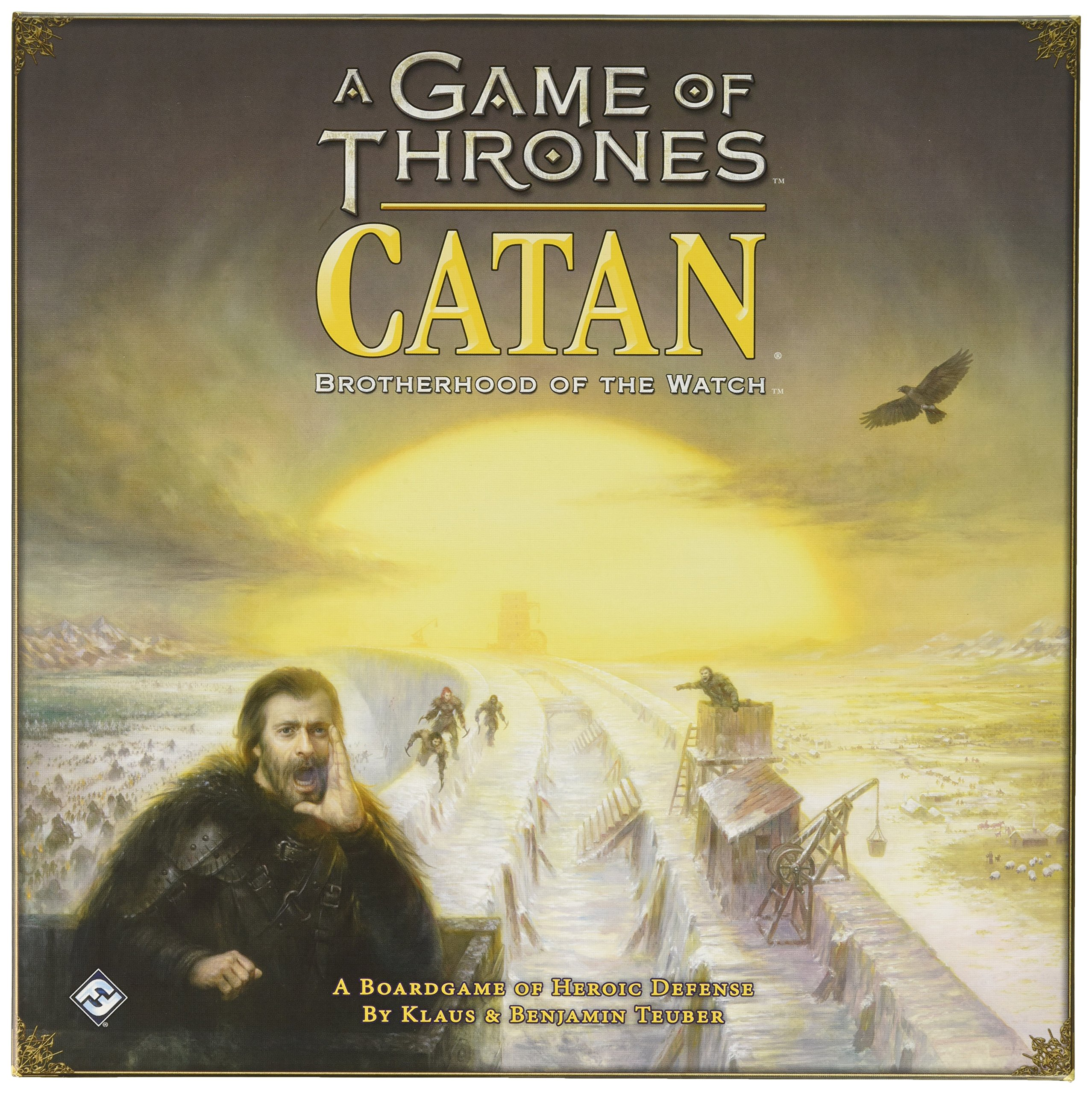 Fantasy Flight Games A Game of Thrones Catan: Brotherhood of The Watch
