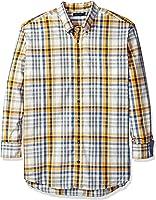 Nautica Men's Big and Tall Whitecap Plaid Shirt