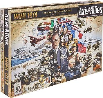 Axis and Allies WWI 1914 - Juego de Mesa: Amazon.es: Juguetes y juegos