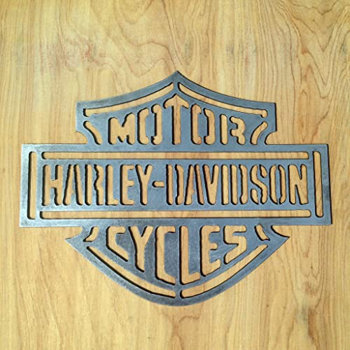 Amazon.com: Harley Davidson Metal Wall Art: Handmade