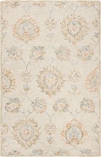 Safavieh BLM560B-8 Blossom Collection Area Rug 8' x 10' Beige