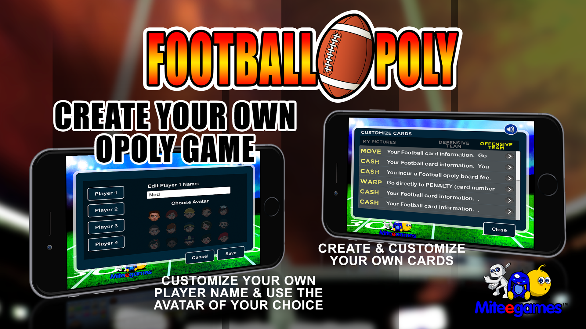 amazon com football opoly appstore for android