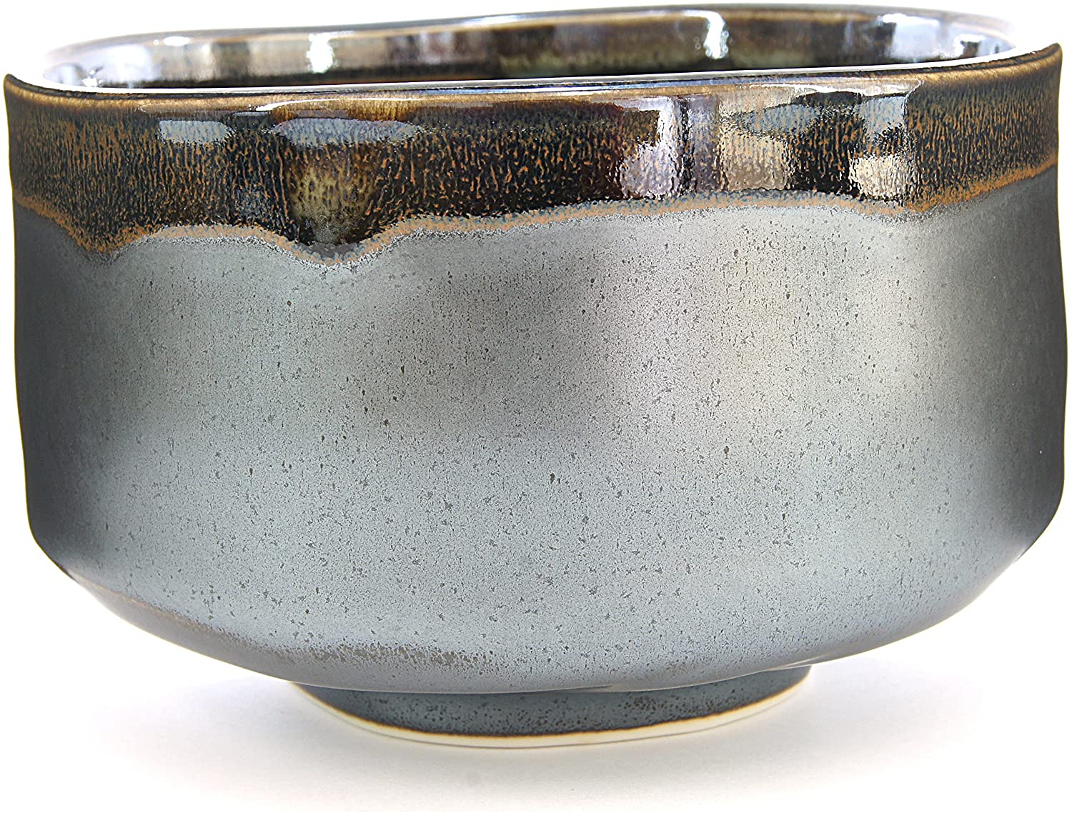 Japanese Handcrafted Matcha Tea Bowl Black