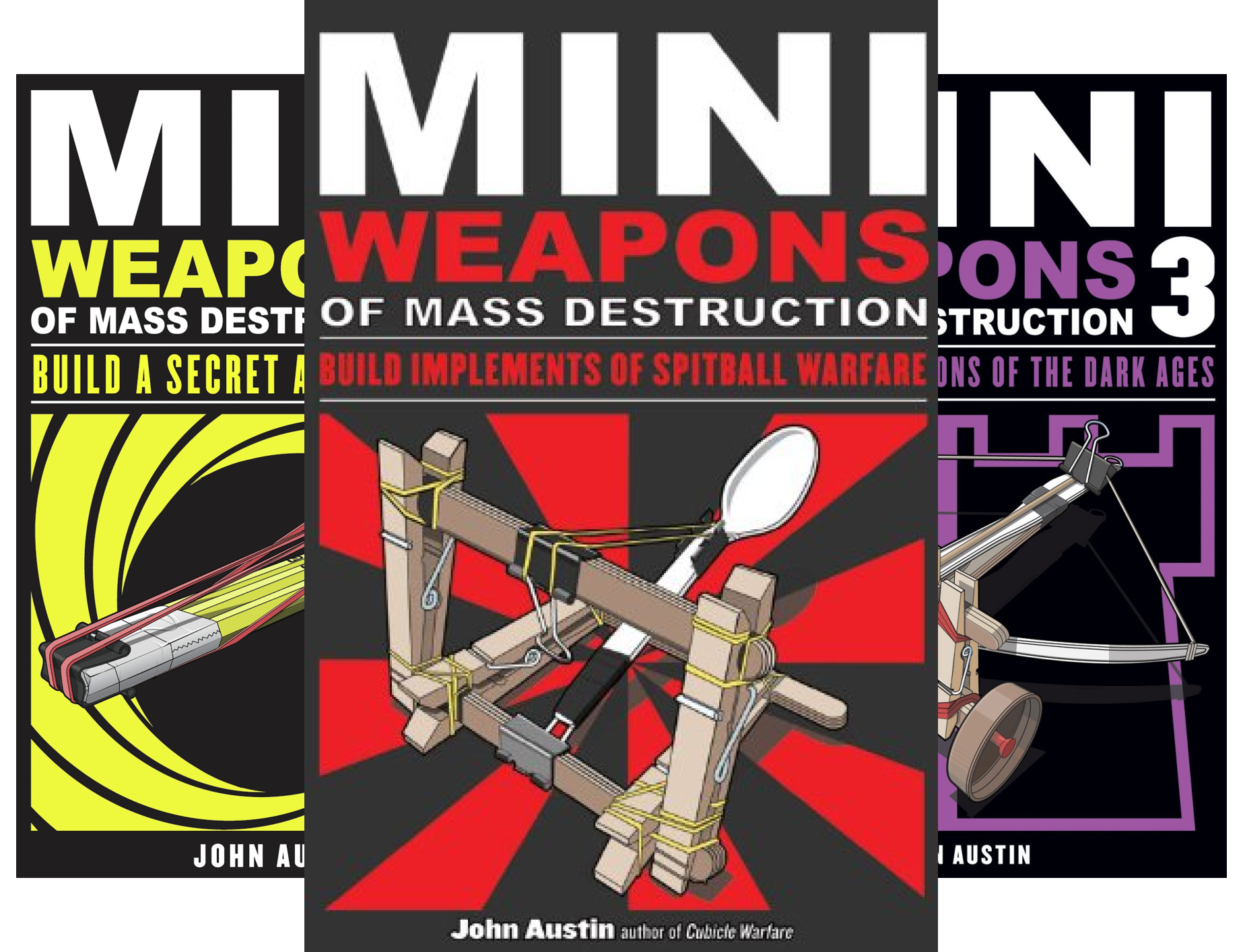 Mini Weapons of Mass Destruction (4 Book Series)