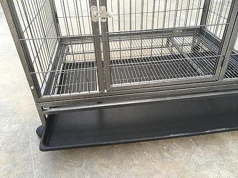 RayGar mascota perro Crate Caseta Caja portable Jaula Carrier con ruedas grande - nuevo: Amazon.es: Productos para mascotas