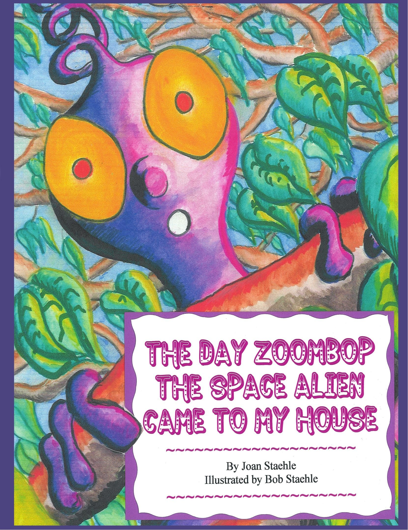 Download The Day Zoombop the Space Alien Came to My House pdf