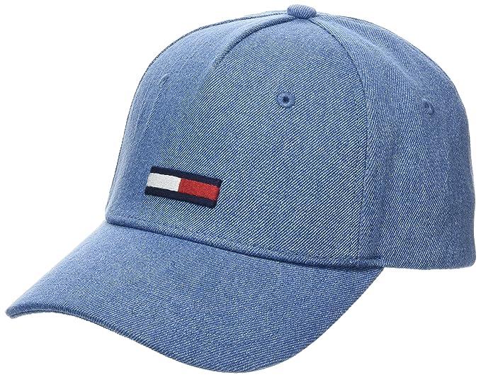 Tju Denim Bb W Baseball Cap, Blue (Denim 901), One Size (Manufacturer Size: OS) Tommy Jeans