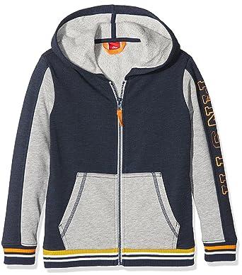 35694fd6b0 s.Oliver Jungen Sweatshirt-Jacke: Amazon.de: Bekleidung