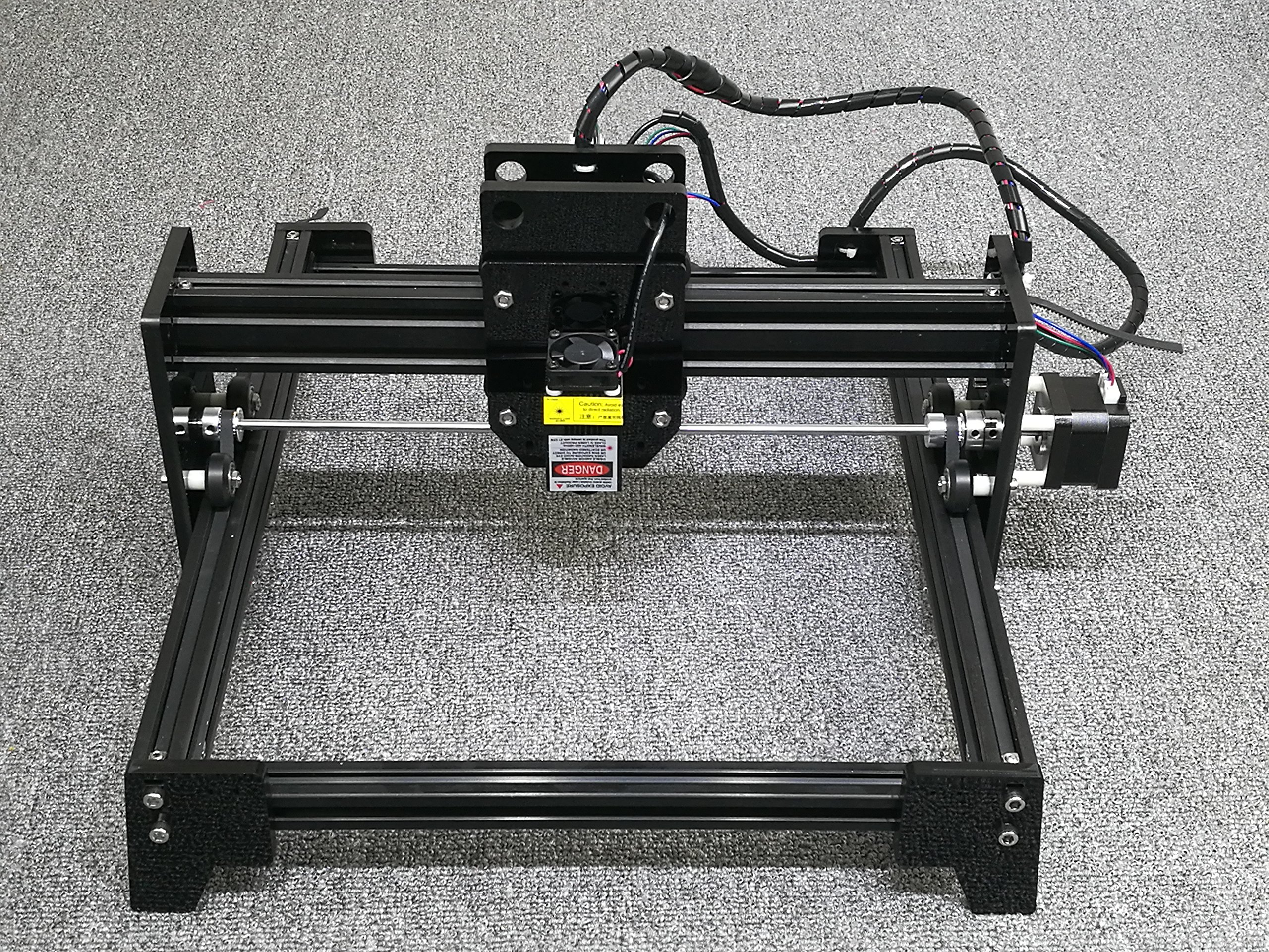 DIY 7000mw laser engraving machine / Laser Engraver / stainless steel engraving machine / stone engraving machine / metal engraving Working Area:16cm20cm