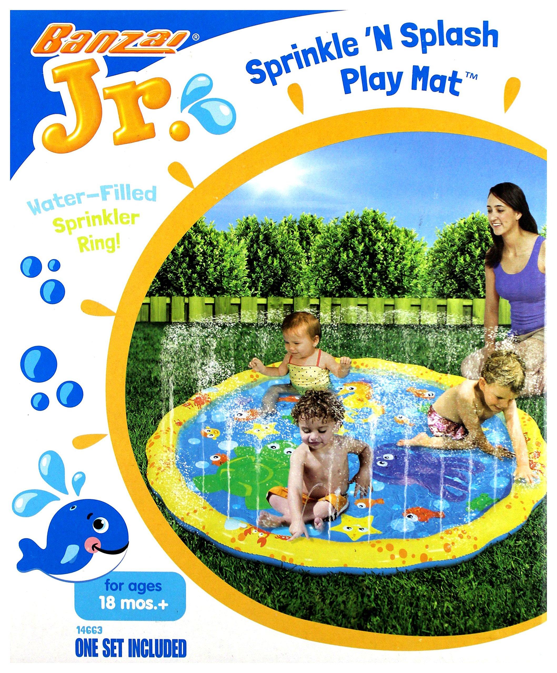 Banzai Jr. 54'' Sprinkle N' Splash Play Mat