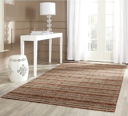 Safavieh Himalaya Collection HIM708A Handmade Multicolored Premium Wool Area Rug 8' x 10'