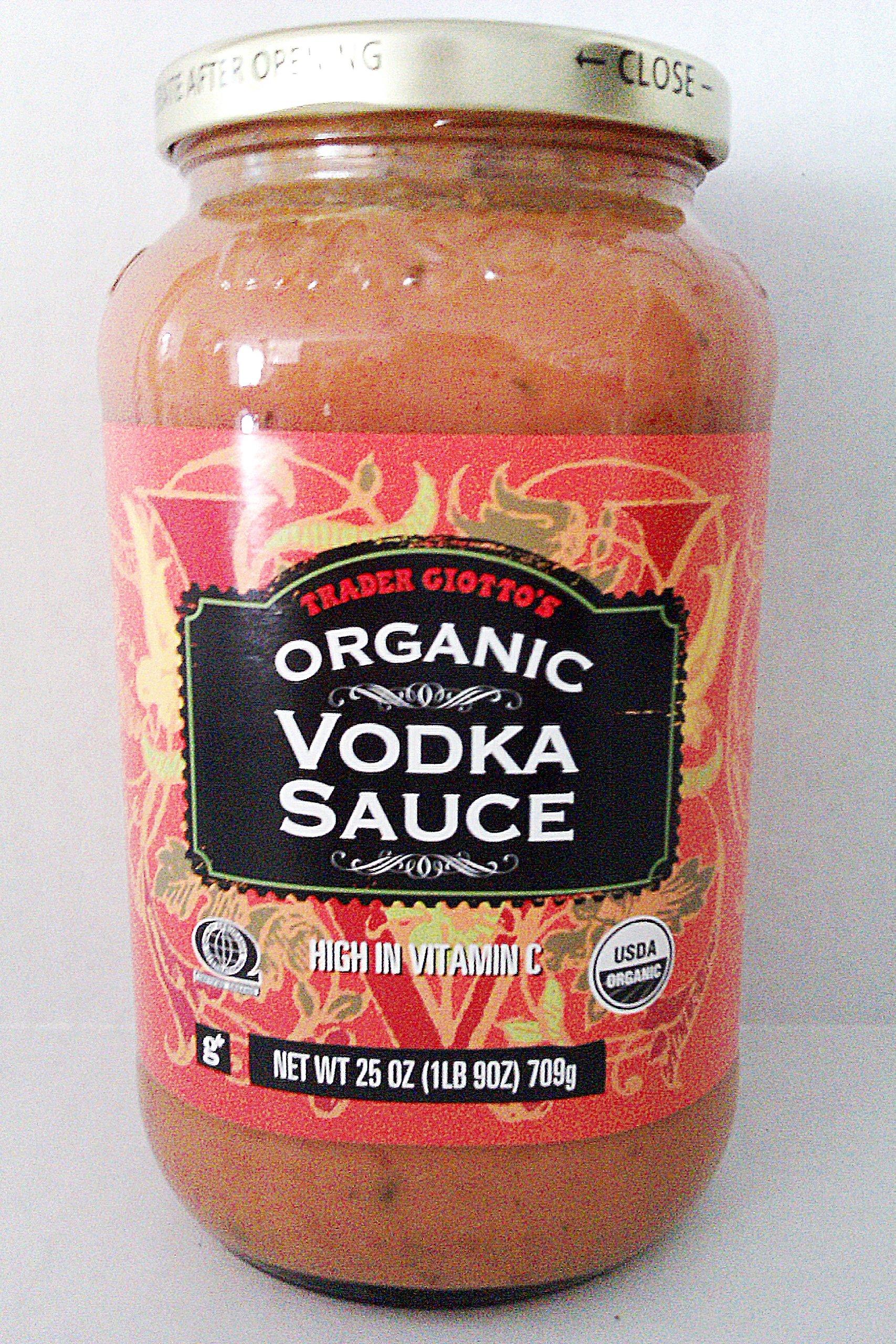Trader Joe's Giotto's Organic Vodka Sauce (25 oz) by Trader Joe's