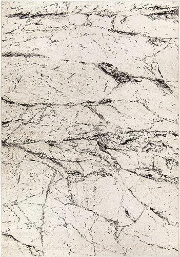 Orian Rugs Marble Hill Soft White 6 7 x9 6 Area Rugs ILS MAHI 85SF 197X290