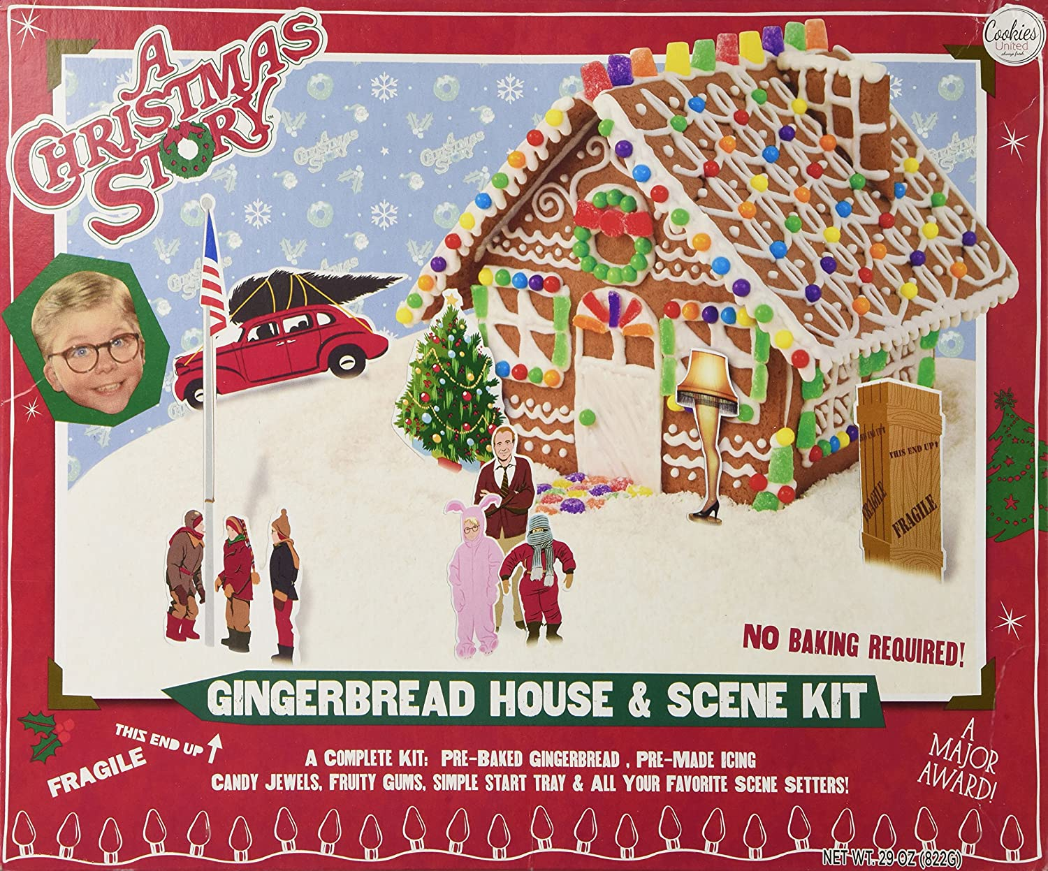 amazoncom a christmas story gingerbread house kit grocery gourmet food - When Was Christmas Story Made