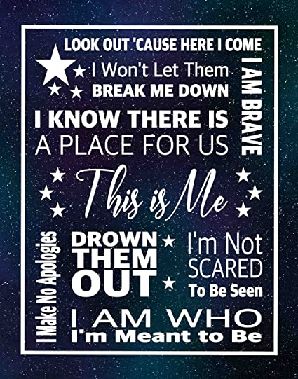 2b6c05d060d83 Simply Remarkable The Greatest Showman Inspired Artistic Poster Prints  Gifts (11x14, Blue Star Poster)