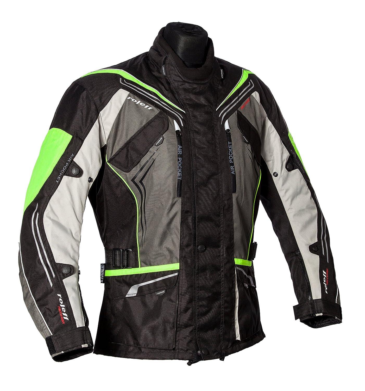 Roleff Racewear Turí n Chaqueta de Motocicleta, Amarillo Neó n, XXXL Amarillo Neón Römer Systems GmbH 151137
