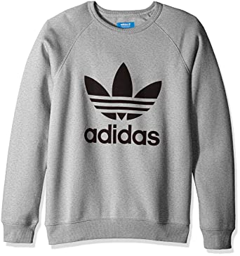 6edef7e1afb36 adidas Originals Men s Trefoil Crew Sweatshirt at Amazon Men s ...