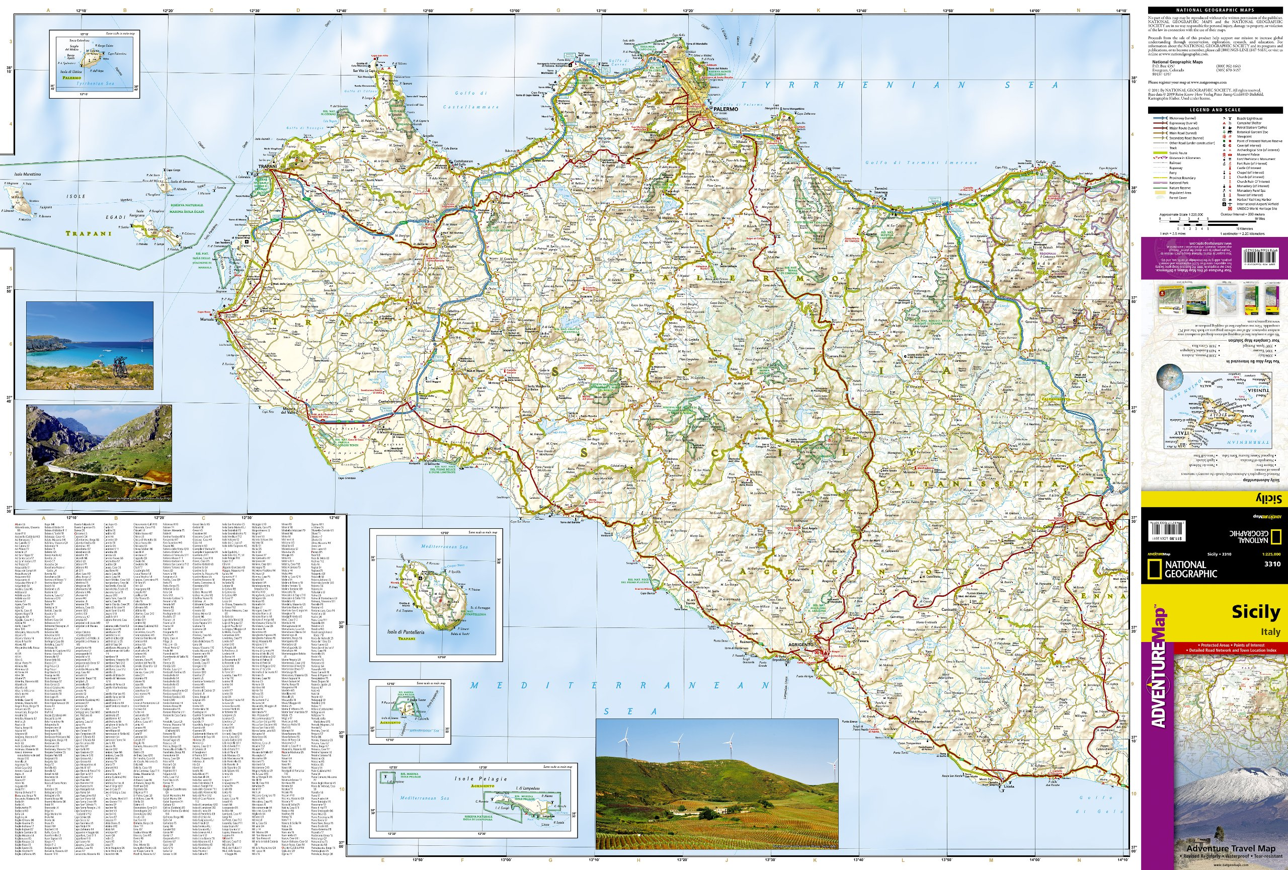 Sicily adventure map national geographic maps 9781566955423 books sicily adventure map national geographic maps 9781566955423 books amazon gumiabroncs Gallery