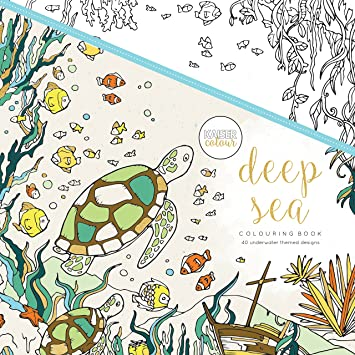 Kaisercraft Libro para colorear Deep Sea (CL506): Amazon.es: Hogar