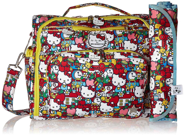 Amazon.com   Ju-Ju-Be Hello Kitty Collection B.F.F. Convertible Diaper Bag,  Tick Tock   Baby aed5663c53