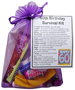 SMILE GIFTS UK 60th Birthday Gift