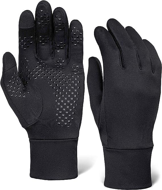 Winter Outdoor Running GLOVES Full Finger Gym Sports Warm Glove for Men /& Women