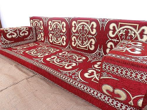 Amazon.com: furniture,oriental seating,arabic sofa,sofa set,floor ...