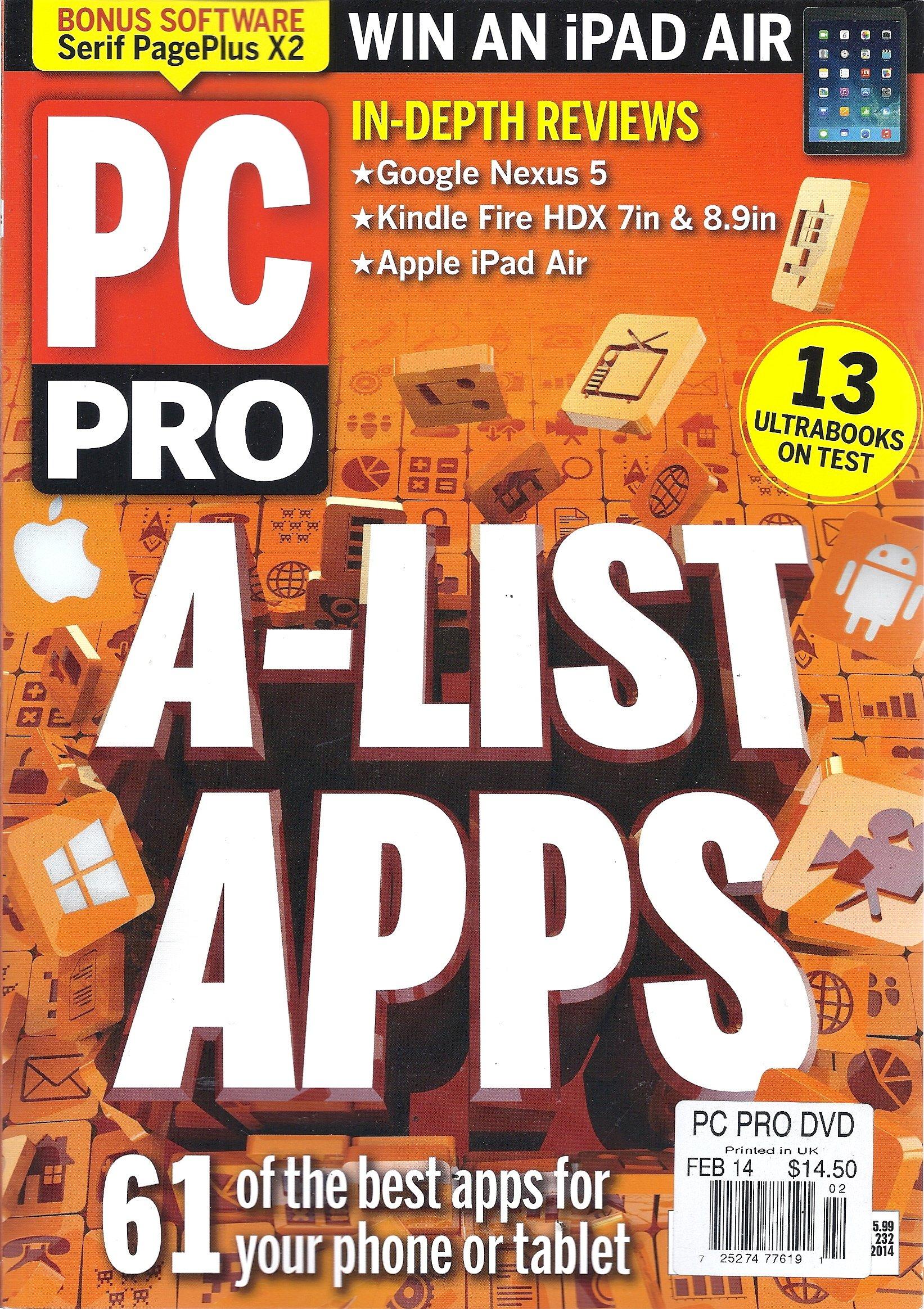 Download PC Pro (February 2014 - Issue 232) pdf epub