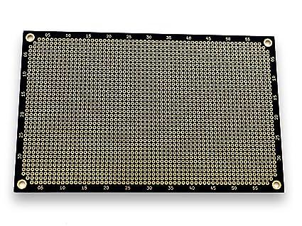 5 Stk Lochraster Platine Leiterplatte PCB Experimentierplatine 2x8cm FR4