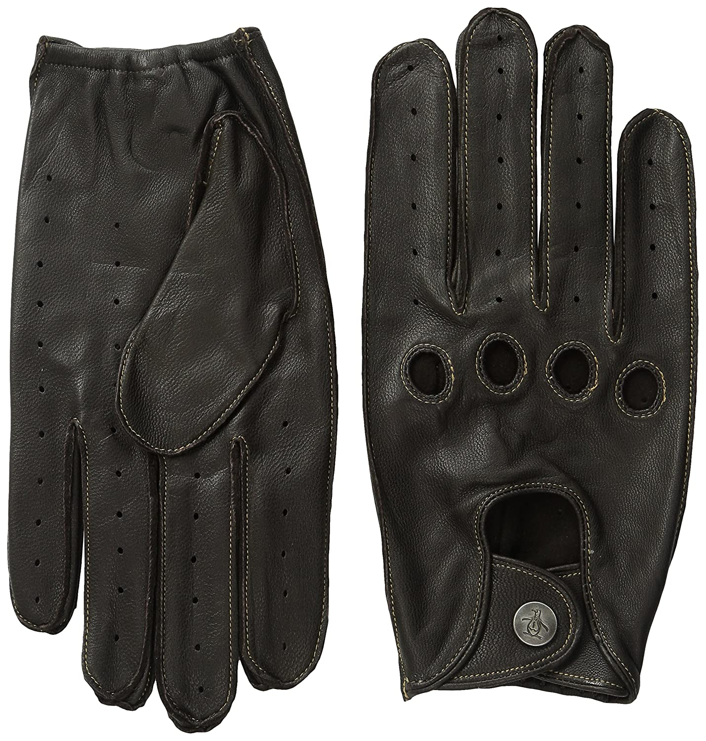 Original Penguin Men's Sheepskin Driving Gloves Original Penguin Men' s Accessories PNH0496