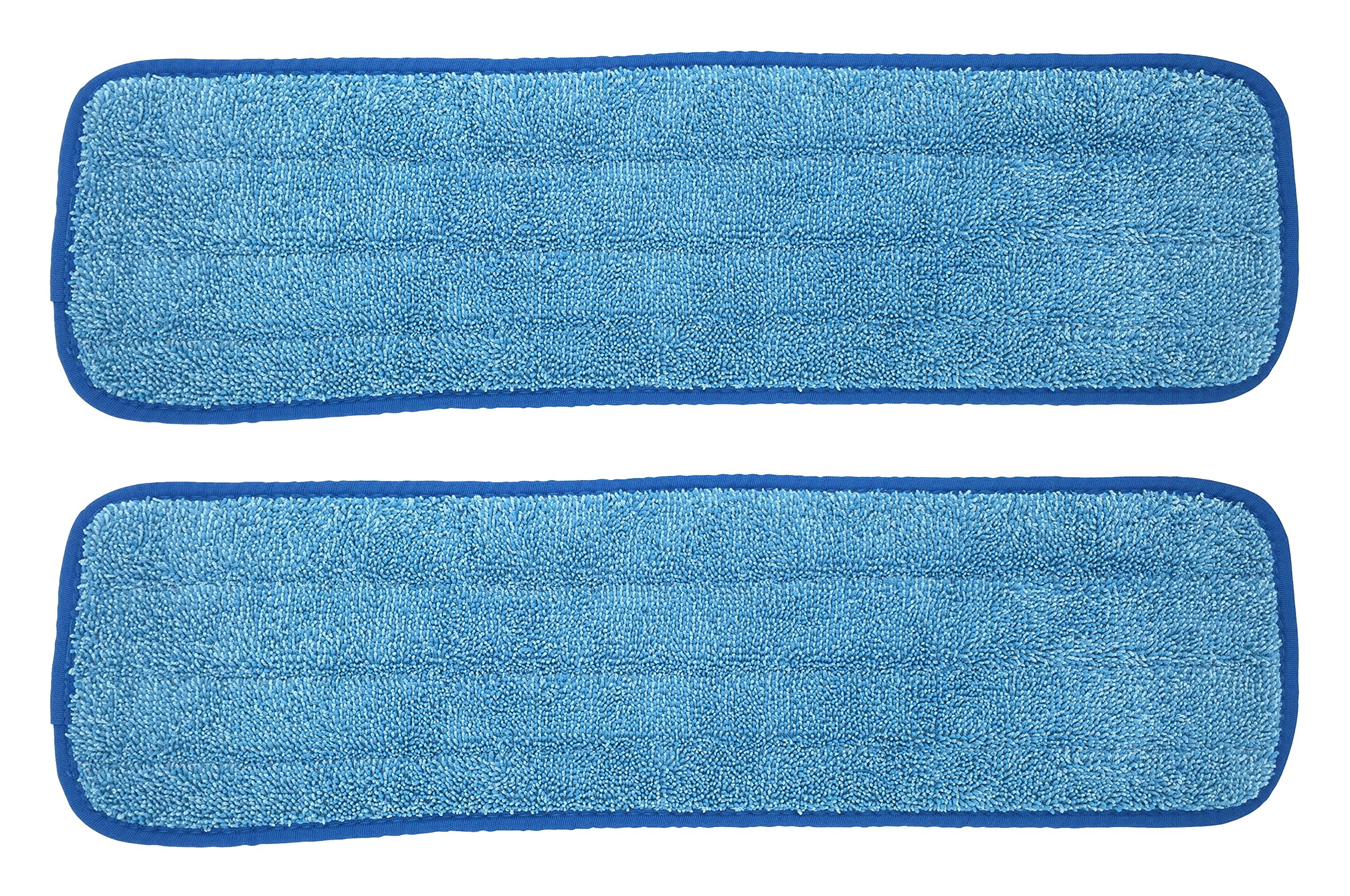 Xanitize Microfiber Replacement Mop Pad, Wet & Dry Home & Commercial Cleaning Refills - Fits 18 and 20 (2-pack)