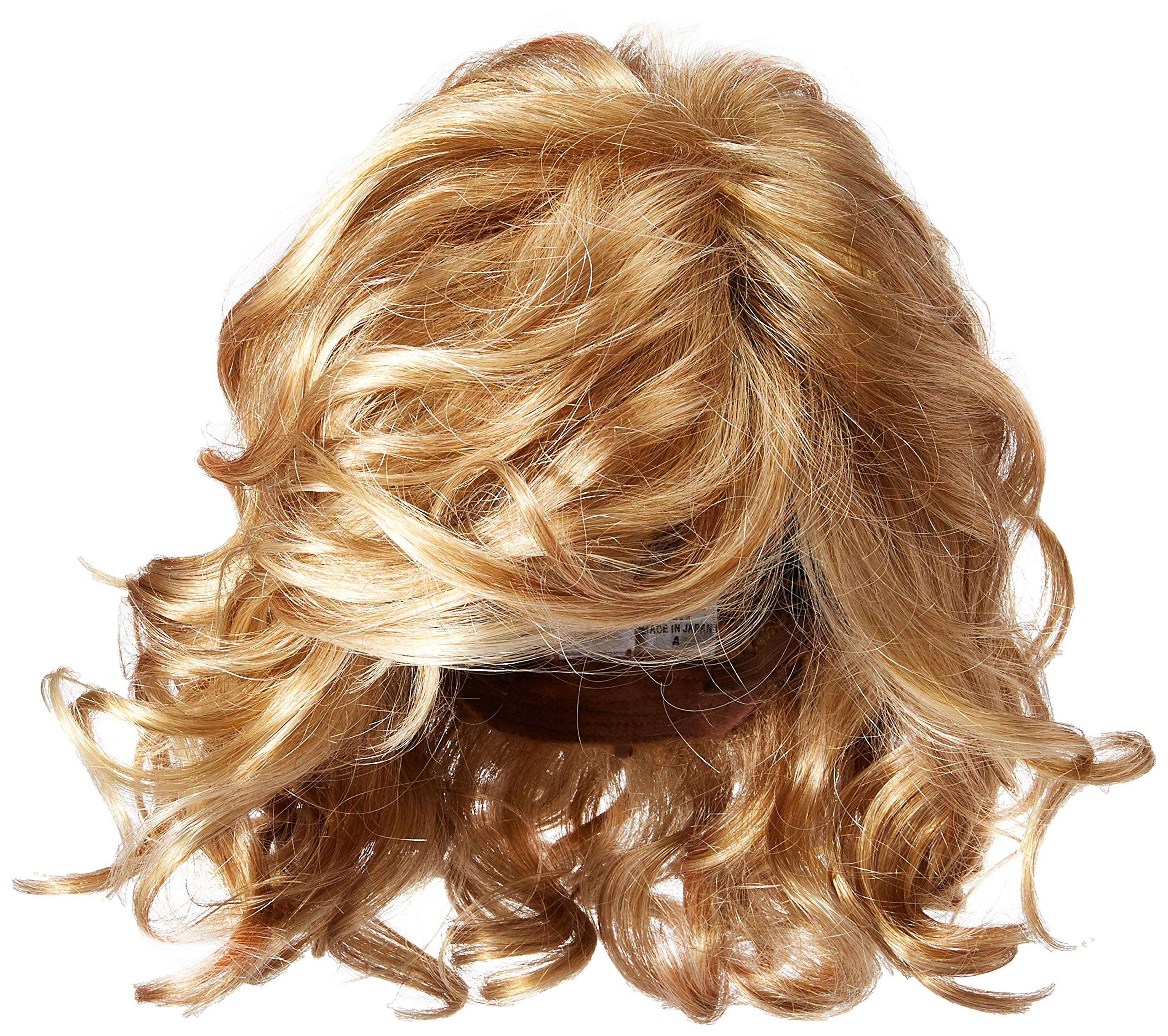 Raquel Welch Brave The Wave With Shoulder Length Modern Scrunched Soft Wavy Chic Hair, R25 Ginger Blonde by Hairuwear by Hair u wear