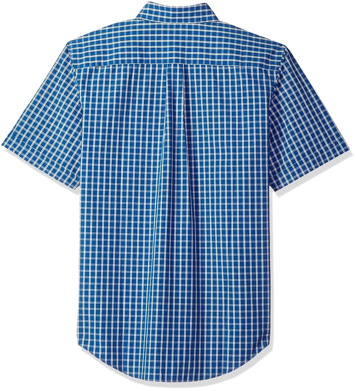 Arrow Mens Hamilton Plaid Short Sleeve Shirt Arrow Men/'s Tops