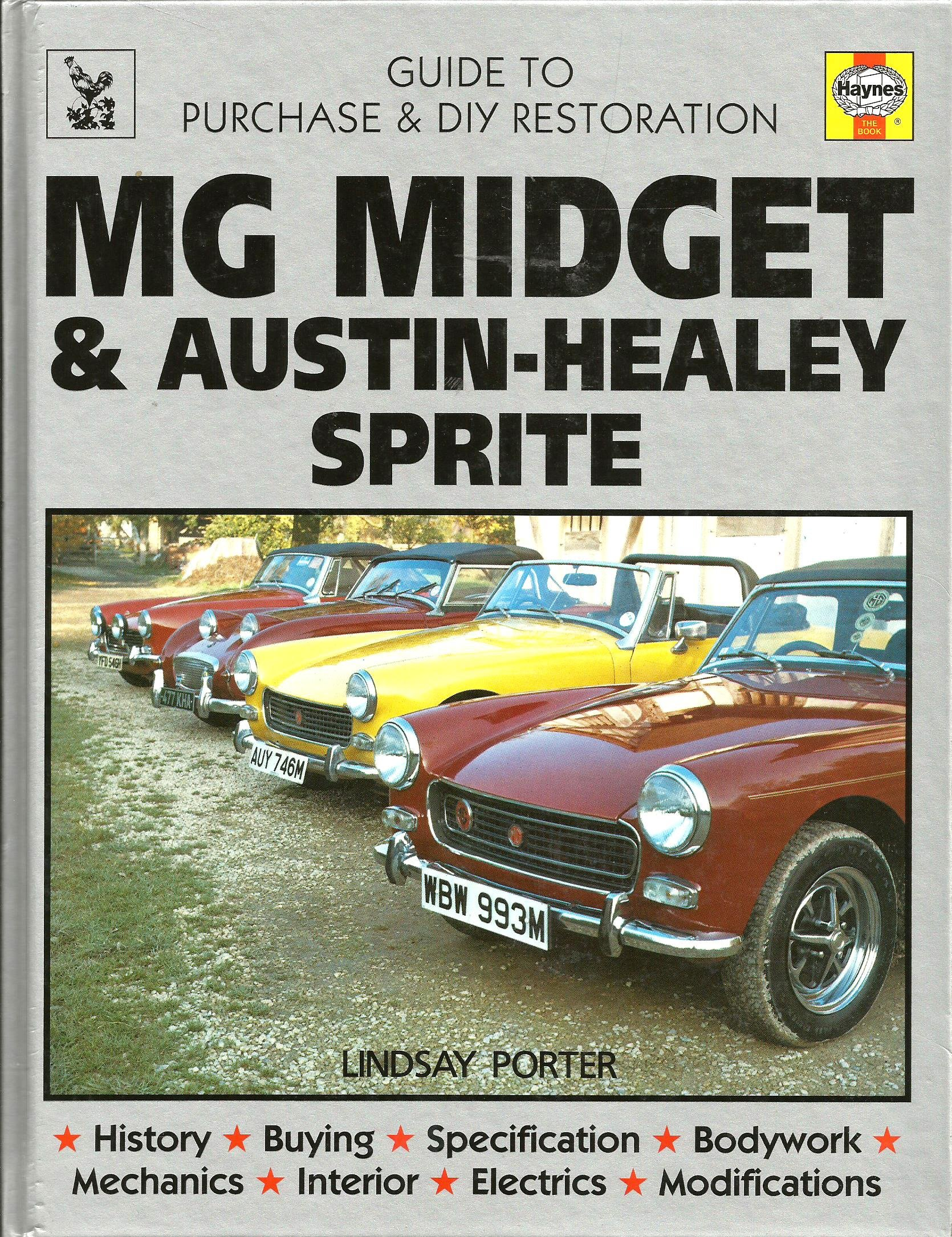 mg midget restoration manual