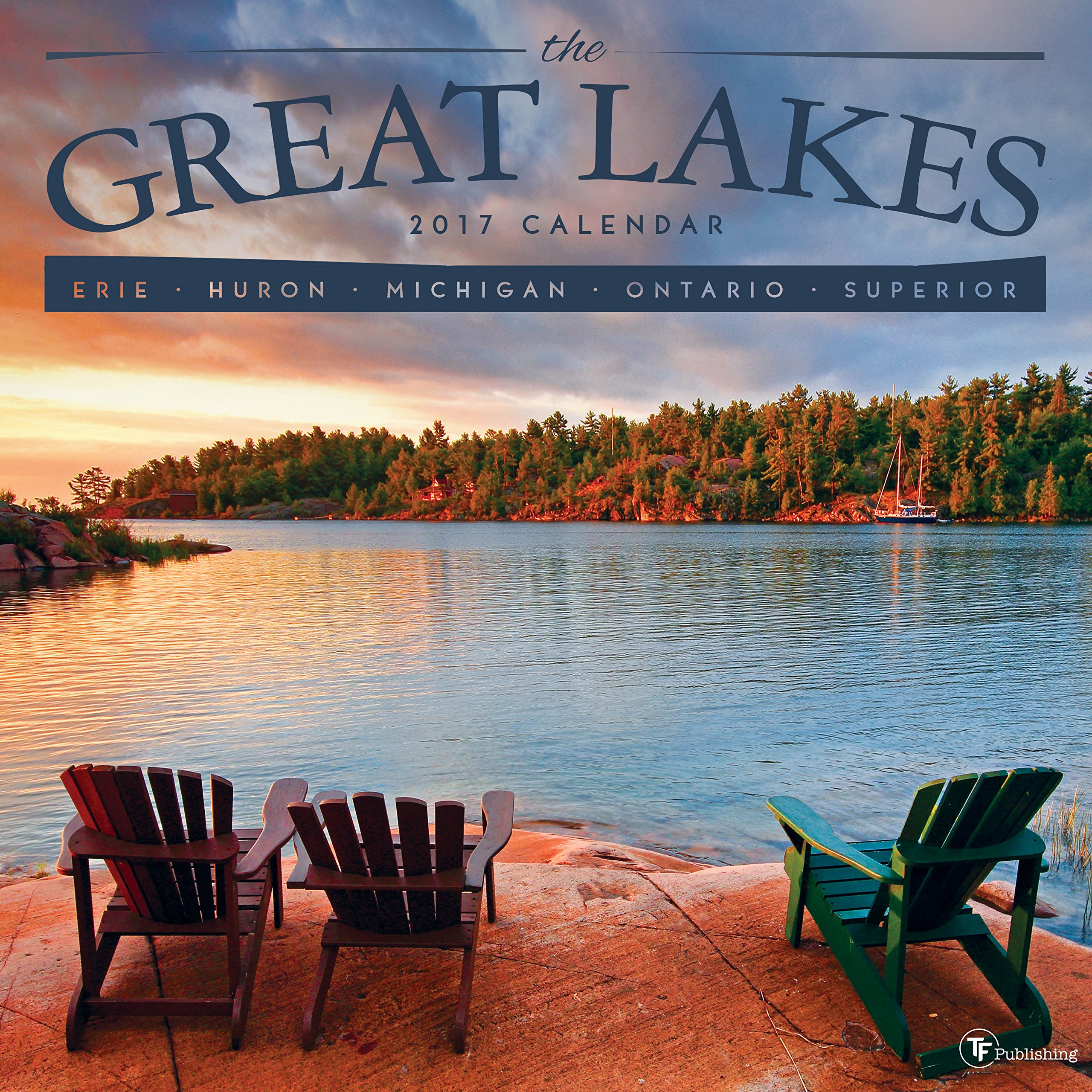 2017 Great Lakes Wall Calendar ebook