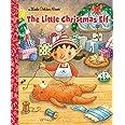 The Little Christmas Elf (Little Golden Book)