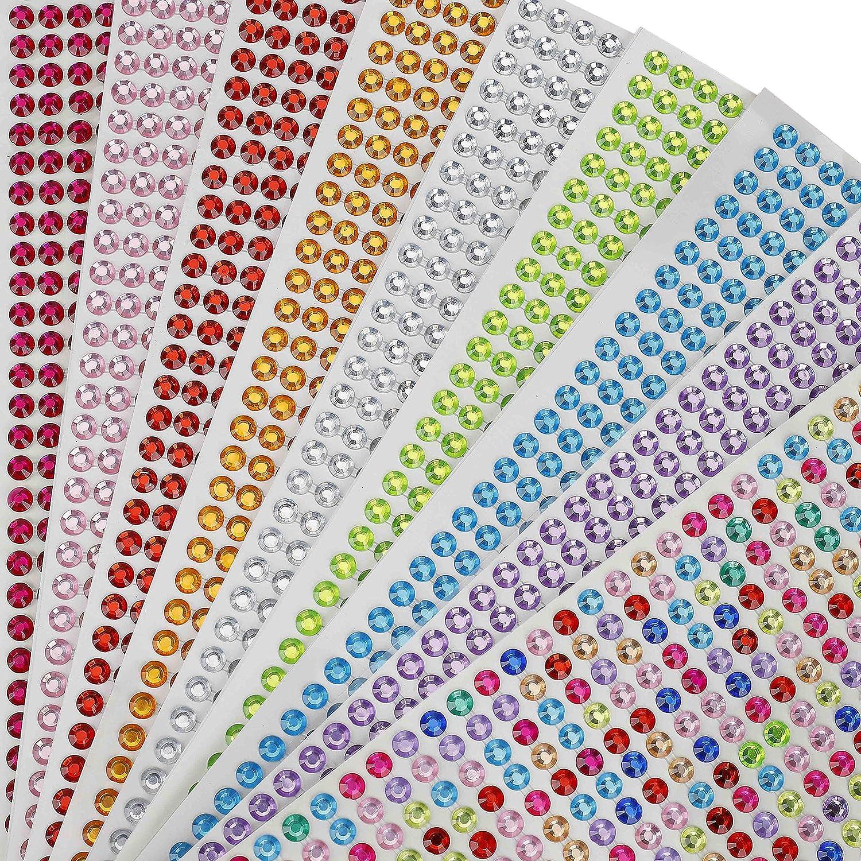 sticker Scrapbooking Decoration Crystal Stickers Acrylic Rhinestone Diamond