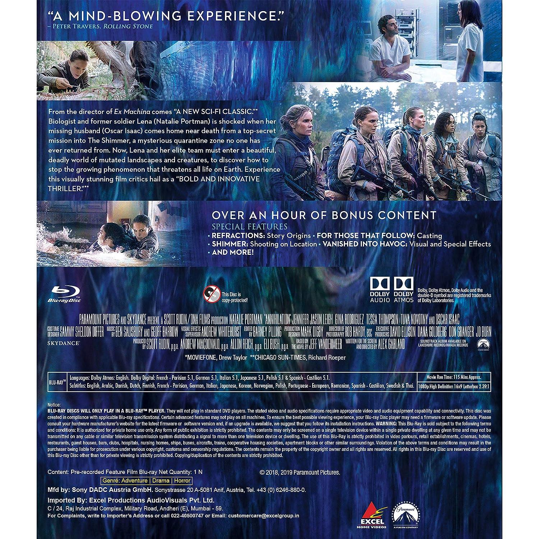 Amazon in: Buy Annihilation DVD, Blu-ray Online at Best