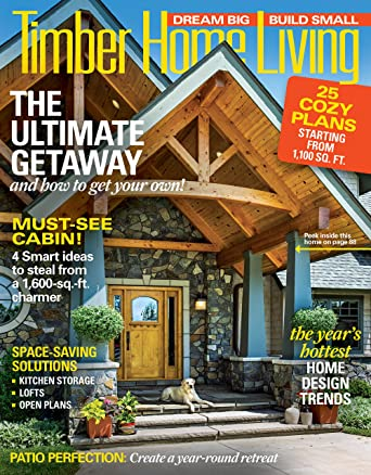 Brilliant Timber Home Living Amazon Com Magazines Largest Home Design Picture Inspirations Pitcheantrous