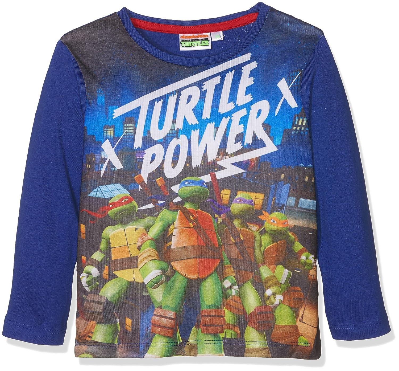 Nickelodeon Ninja Turtles Power, Maglietta a Maniche Lunghe Bambino