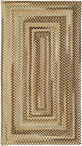 Capel Rugs Manchester Rectangle Braided Area Rug, 9 x 13 , Beige Hues