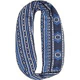 Buff Osage Infinity Lyocell Jacquard - Blue, One Size