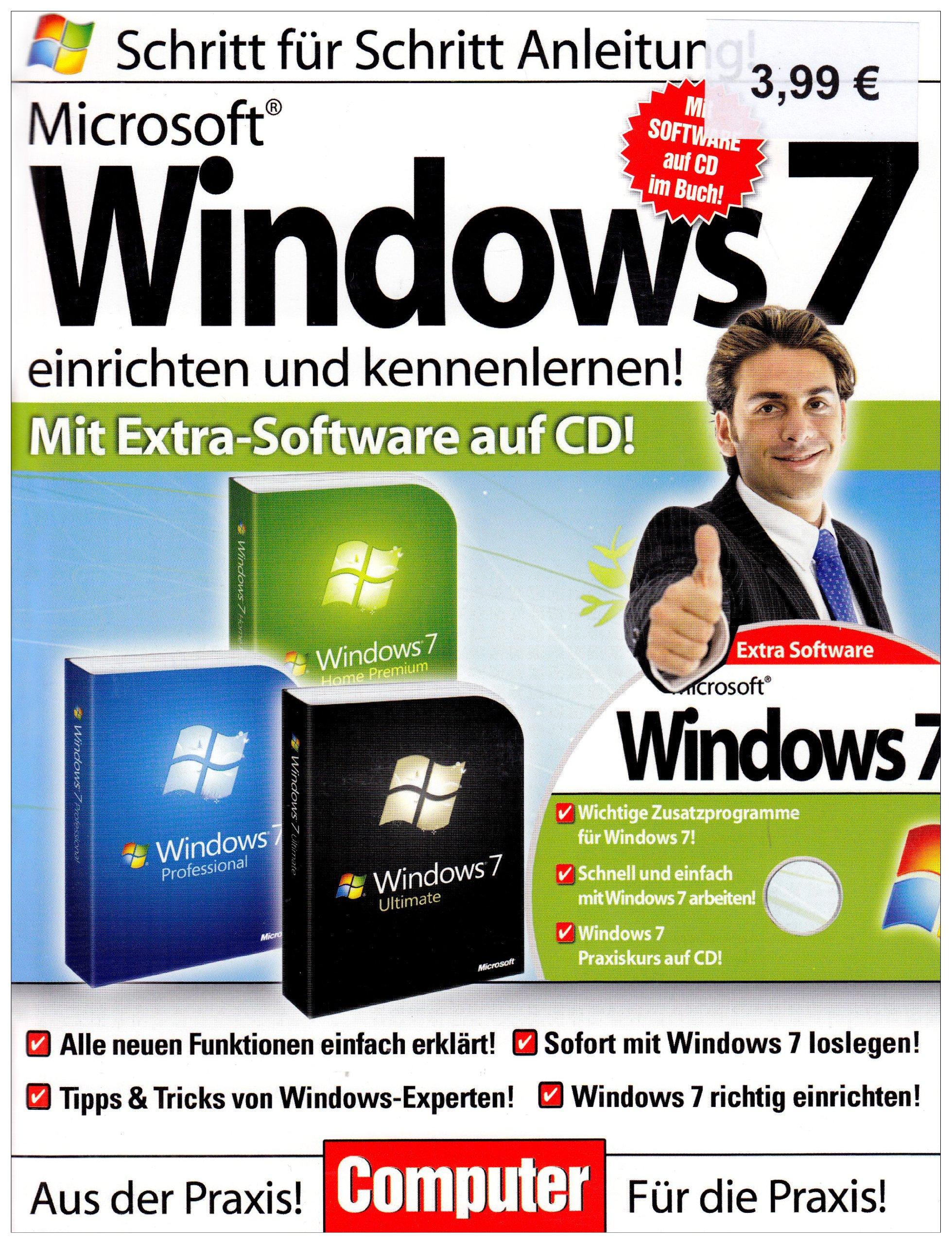 Computerbuch - Windows 7 Einrichten Broschiert – November 2009 Harald Mayer Media Verlagsgesellschaft B00344WAP2 LA4019393965656