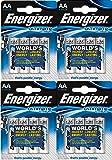 16 batterie Energizer Ultimate al litio, micro, L91 AA, 3000 mAh, LR6 L91, 1,5 V
