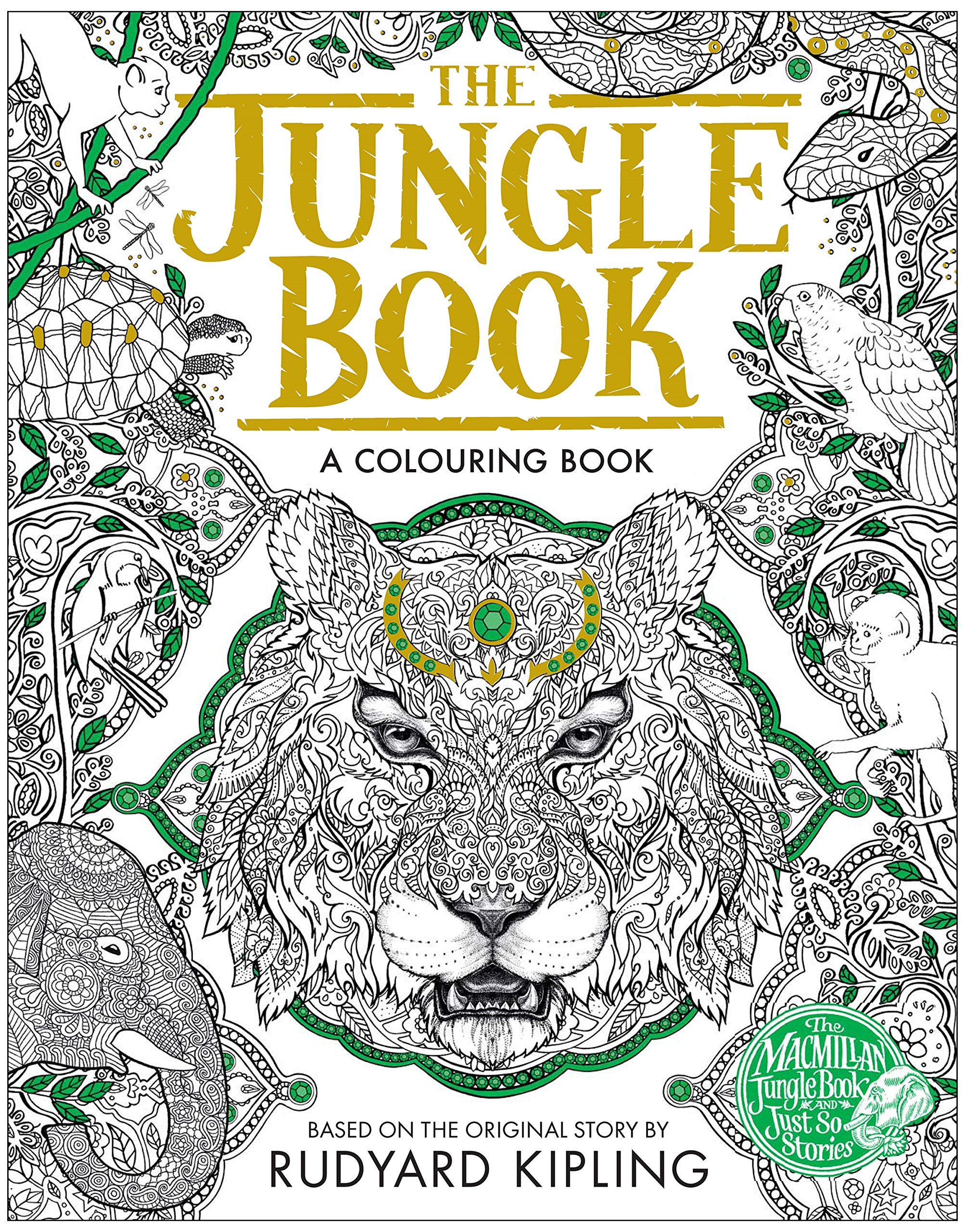 Coloring pages jungle book
