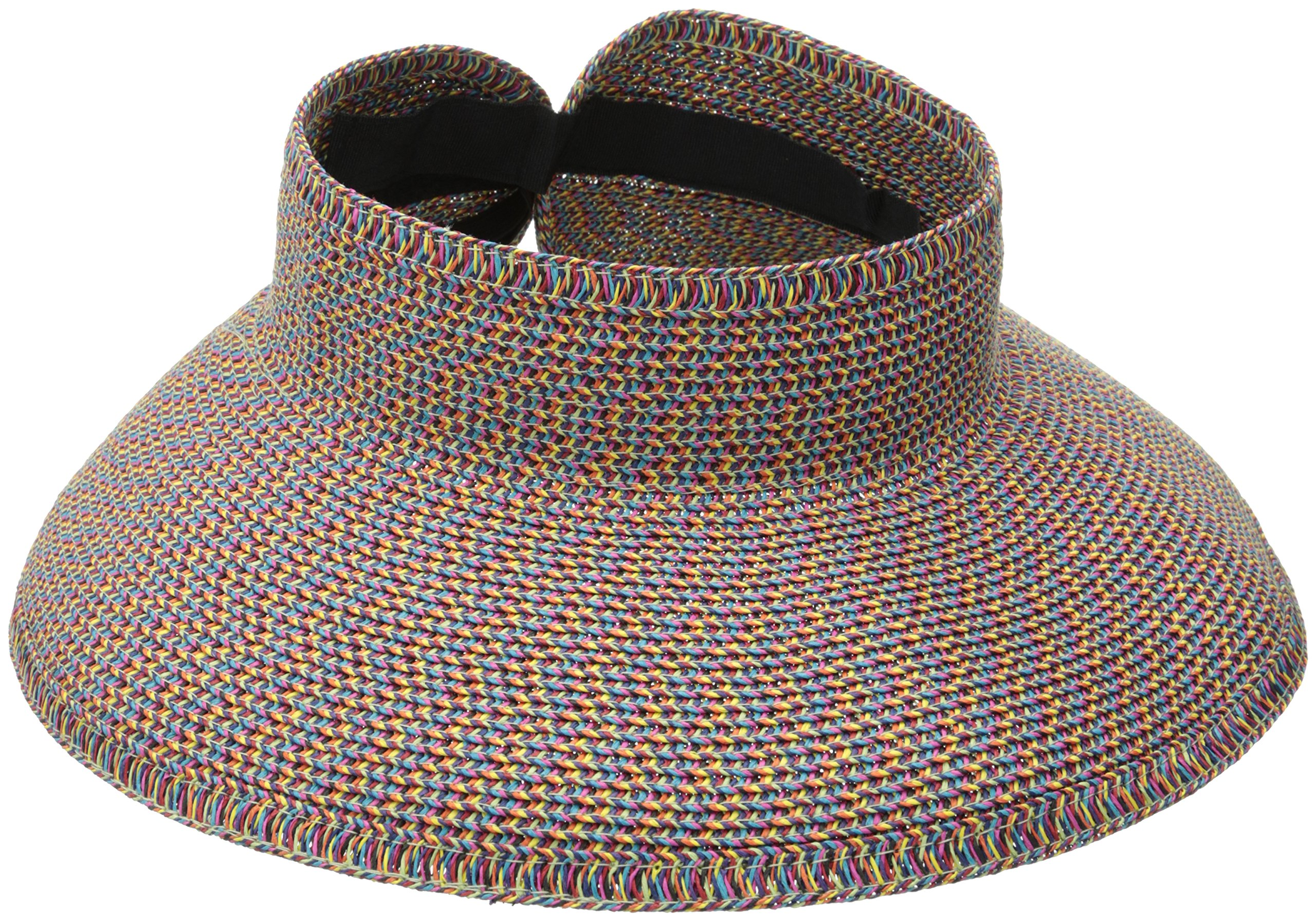 San Diego Hat Company Women's Visor, Bright, One Size by San Diego Hat Company (Image #1)
