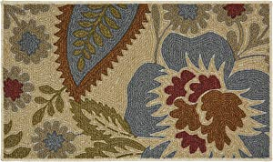 Mohawk Home Soho Crewel Floral Spice Rug, 1'6x2'6